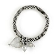 Bobble Stretch Charm Bracelet