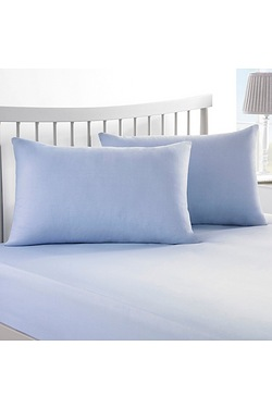 Plain Dyed Bedding Pair Of Housewif...