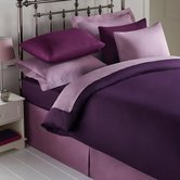 Percale Plain Dyed Duvet Cover