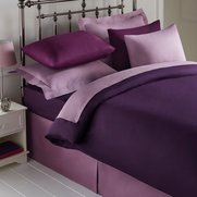 Percale Plain Dyed Pair Of Pillowcases