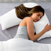 Pair Of V-Shaped Pillowcases