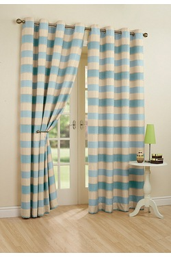 Sonnet Lined Eyelet Curtains