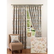 Jeff Banks Floral Jacquard Curtains