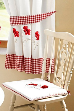 Embroidered Kitchen - Seat Pad