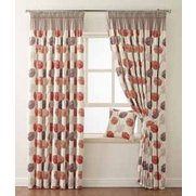 Microfibre Printed Sierra Curtains ...