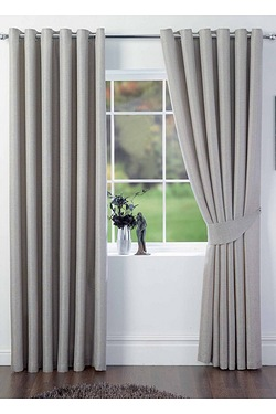 Leon Ring Top Curtains Including Ti...