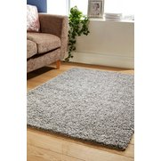 Retro Shaggy Plain Rug