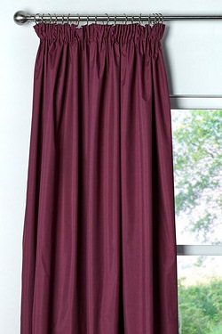 Light Reducing Thermal Coated Curtains