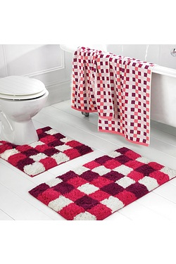 Kingsley Home Checkers Towels