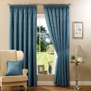 Dandelion Jacquard Curtains With Ti...