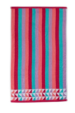 Montreal Jacquard Border Towels