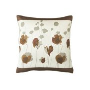 Mae Flower Print Top Border Cushion...