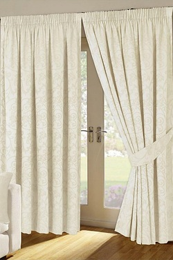 Turin Pencil Pleat Curtains
