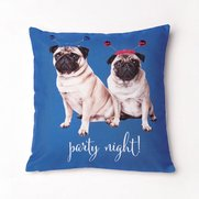 It's A Pug's Life Filled Cushion