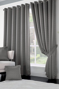 Malham Lined Eyelet Curtains