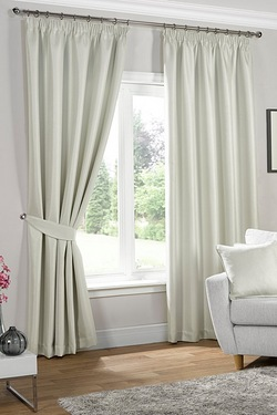 Neva Blackout Pencil Pleat Curtains