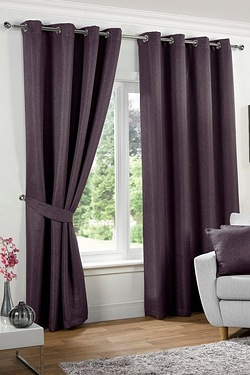 Neva Blackout Eyelet Curtains