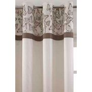 Butterfly Flock Top Border Lined Cu...