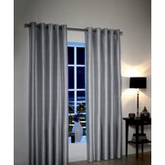 Metallic Look Light Reducing Curtains