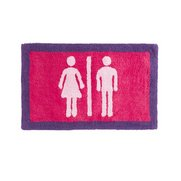 His/Her Bath Mat
