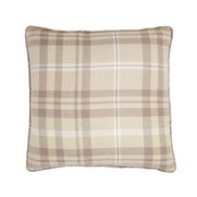Woven Check Cushion Cover