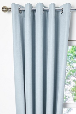 Luna Blackout Eyelet Curtains