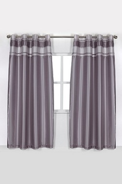 Adriana Top Border Eyelet Curtains