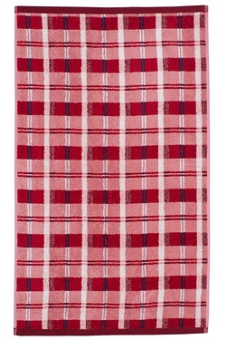 Logan Check Jacquard Towels