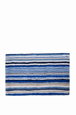 Linea Stripe Bath Mat