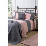 Geometric Quilted Duvet Set