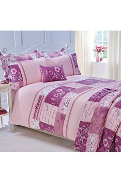 Floral Poetry Duvet Set