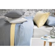 Washed Cotton Percale Fitted Sheet