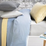 Washed Cotton Percale Duvet Cover
