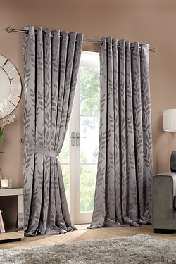 Norfolk Lined Ring Top Curtains & T...