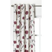 Dandelion Eyelet Lined Curtains