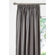 Burdock Satin Striped Lined Curtains