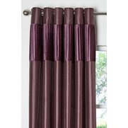 Pleated Top Border Curtains