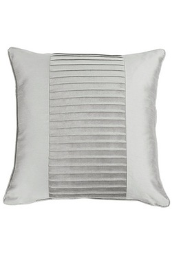 Pleated Top Border Cushion Cover