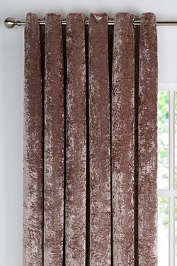 Crushed Velvet Curtains