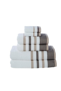 Seville 4-Piece Towel Bale With 2 F...