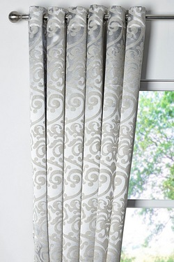 Grace Woven Blockout Curtains