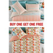 Chance Stripe/Triangles Duvet Set