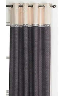 Two Tone Lined Curtains