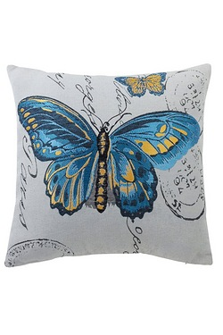Butterfly Woven Tapestry Filled Cus...