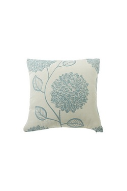 Layla Chenille Flower Filled Cushion