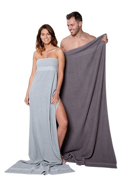 Pair Of Kingsley Duo Jumbo Towels