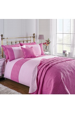 Couture Rose Duo Quilted Duvet Set