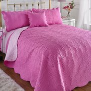Couture Rose Duo Quilted Bedspread