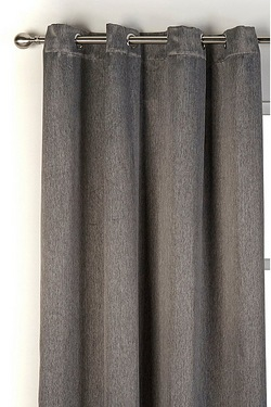 Sateen Ring Top Blackout Curtains