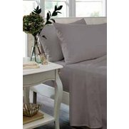 Catherine Lansfield Percale Flat Sheet